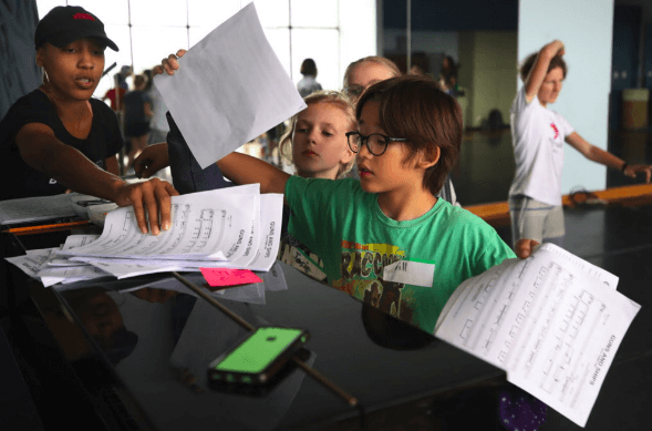 Summer Camps Catch Hamilton Mania for Minnesota Children