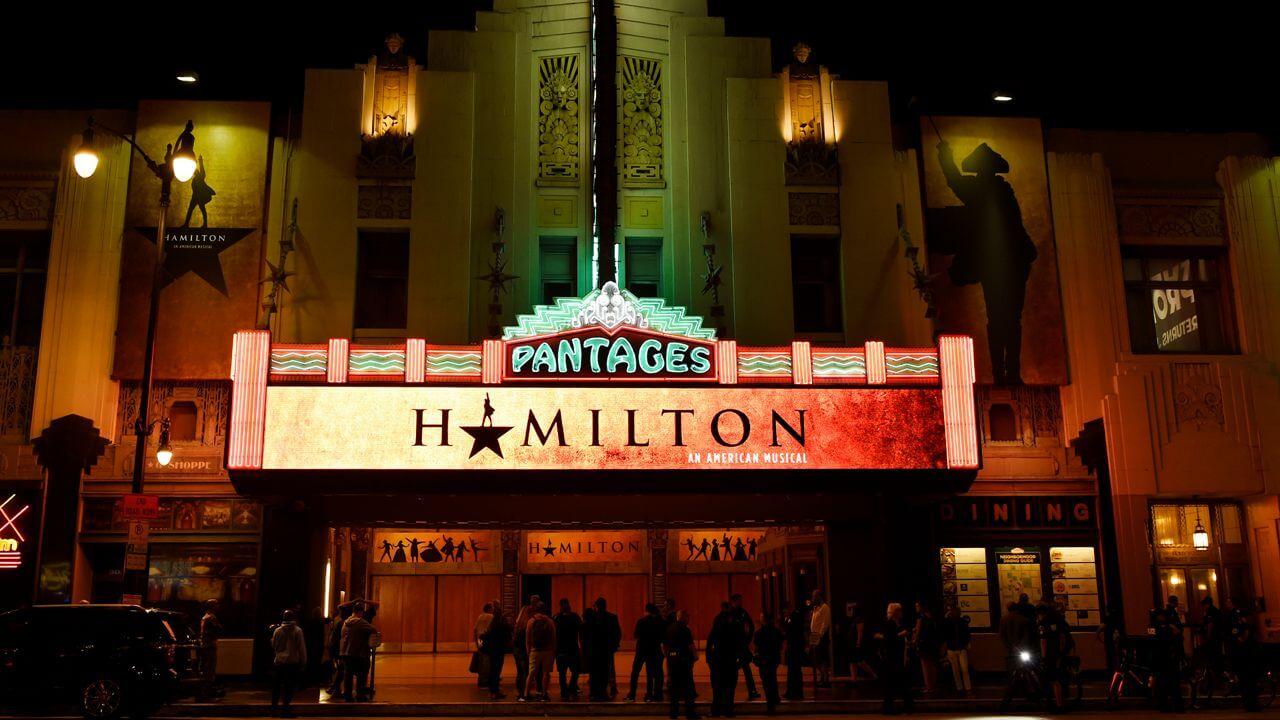 Hamilton Pantages Theatre Los Angeles