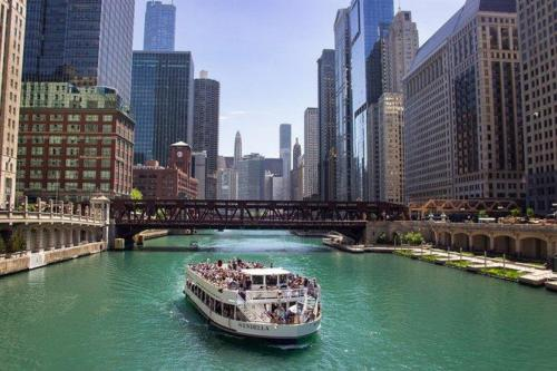 Chicago River Architecture Tour / from $39.00